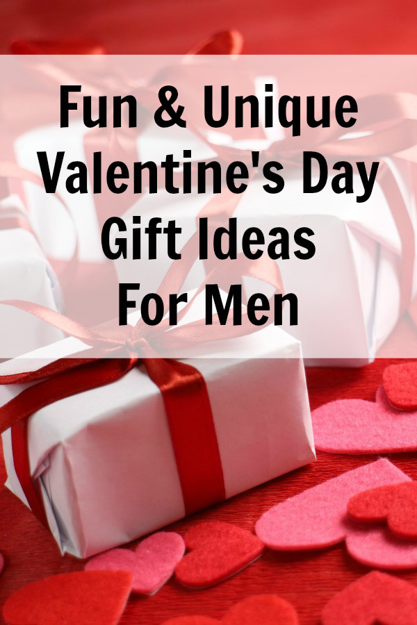Valentine Gift For Husband Ideas  Unique Valentine Gift Ideas for Men Everyday Savvy
