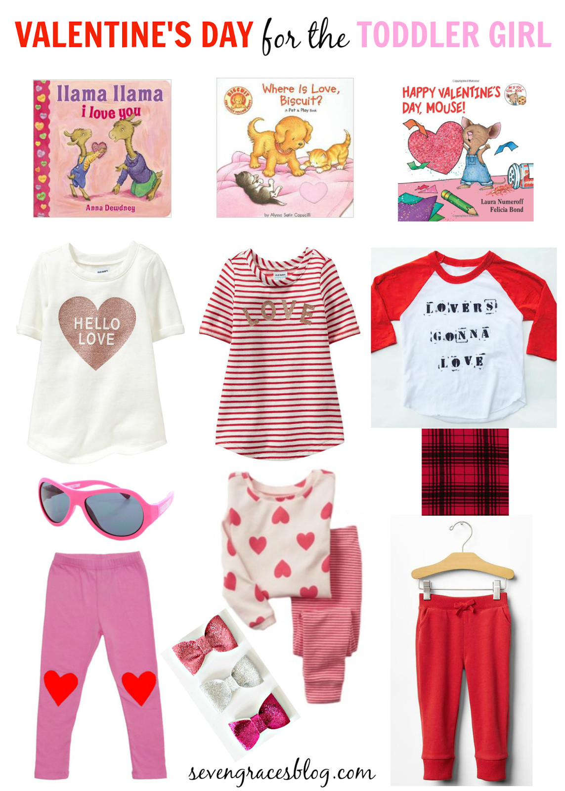 Valentine Gift Ideas For Girls  Valentine s Day Gift Ideas for the Toddler Girl Seven Graces