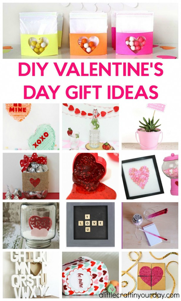 Valentine Gift Ideas For Girls  DIY Valentines Day Gift Ideas A Little Craft In Your Day