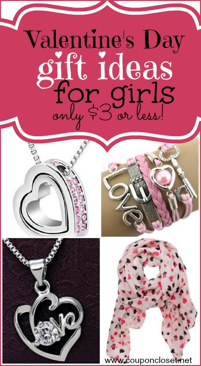 Valentine Gift Ideas For Girls  Valentines Gifts for Girls only $3 or Less Shipped