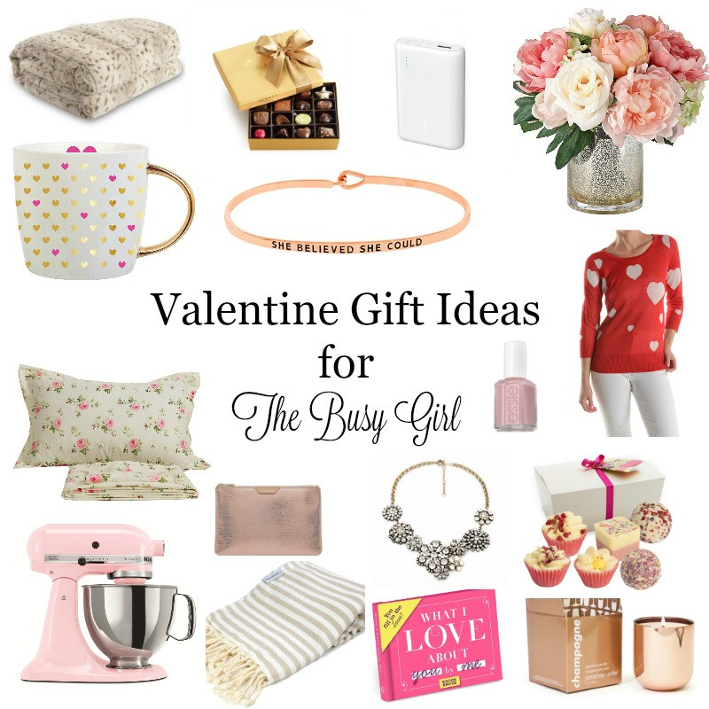 Valentine Gift Ideas For Girls  Valentine Gift Ideas for The Busy Girl – The Crowned Goat