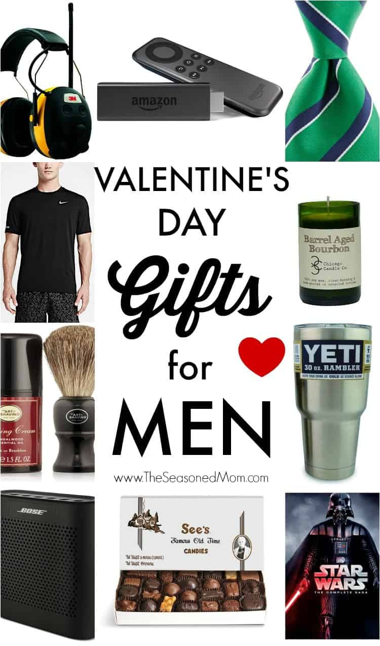 Valentine Gift Ideas For Men  Valentine s Day Gifts for Men The Seasoned Mom