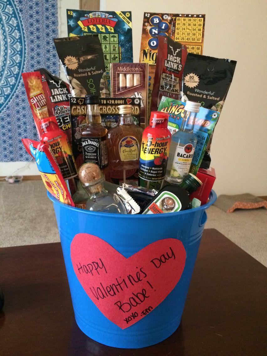 Valentine Gift Ideas For Men  Valentine s Day man bouquet for my man valentinesday