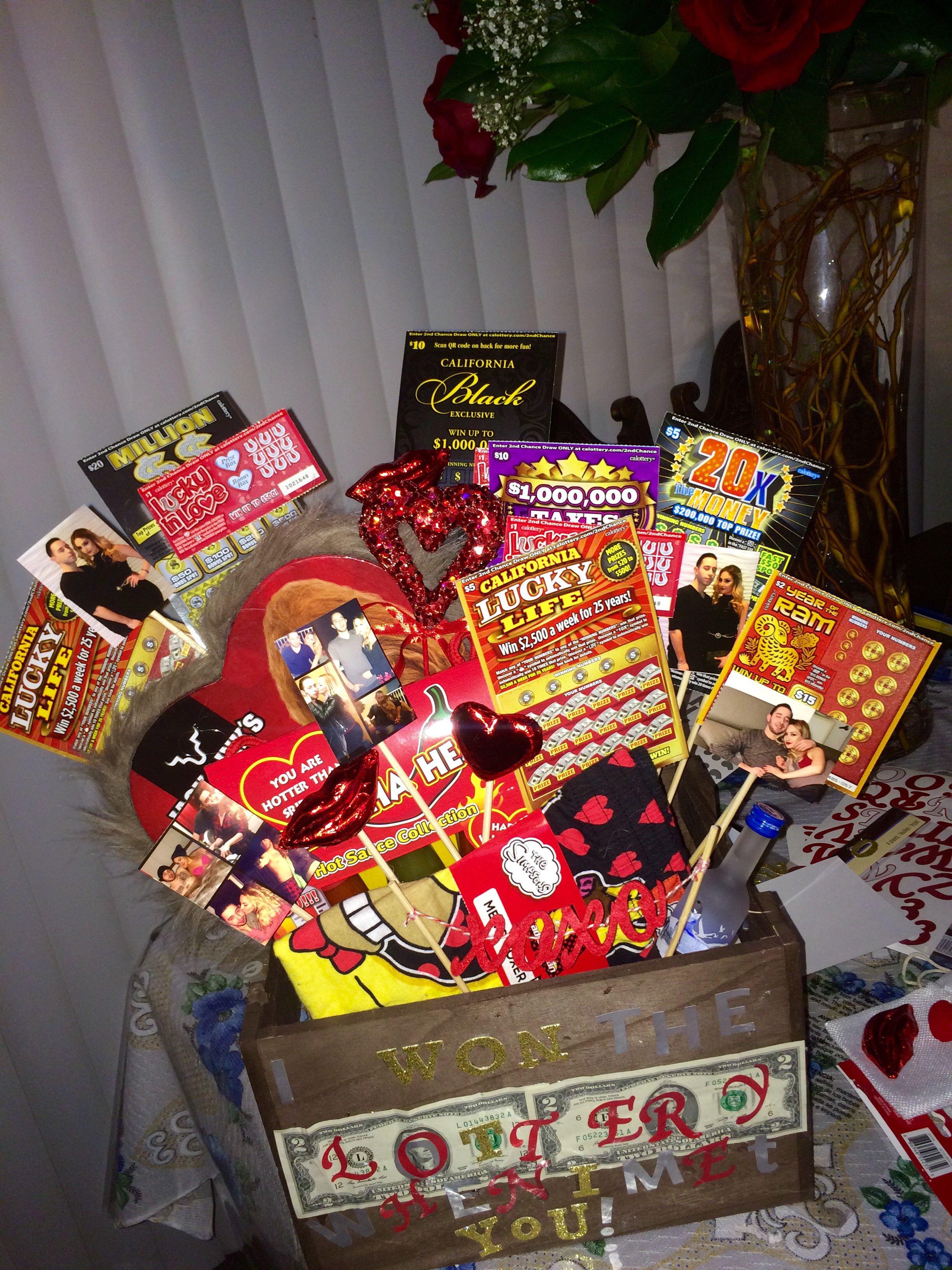 Valentine'S Day Gift Basket Ideas  Valentine s Day basket for him DIY