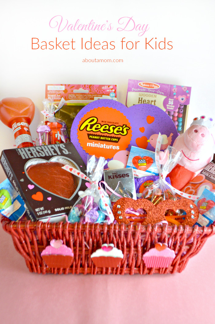 Valentine'S Day Gift Basket Ideas  Valentine s Day Basket Ideas for Kids About A Mom