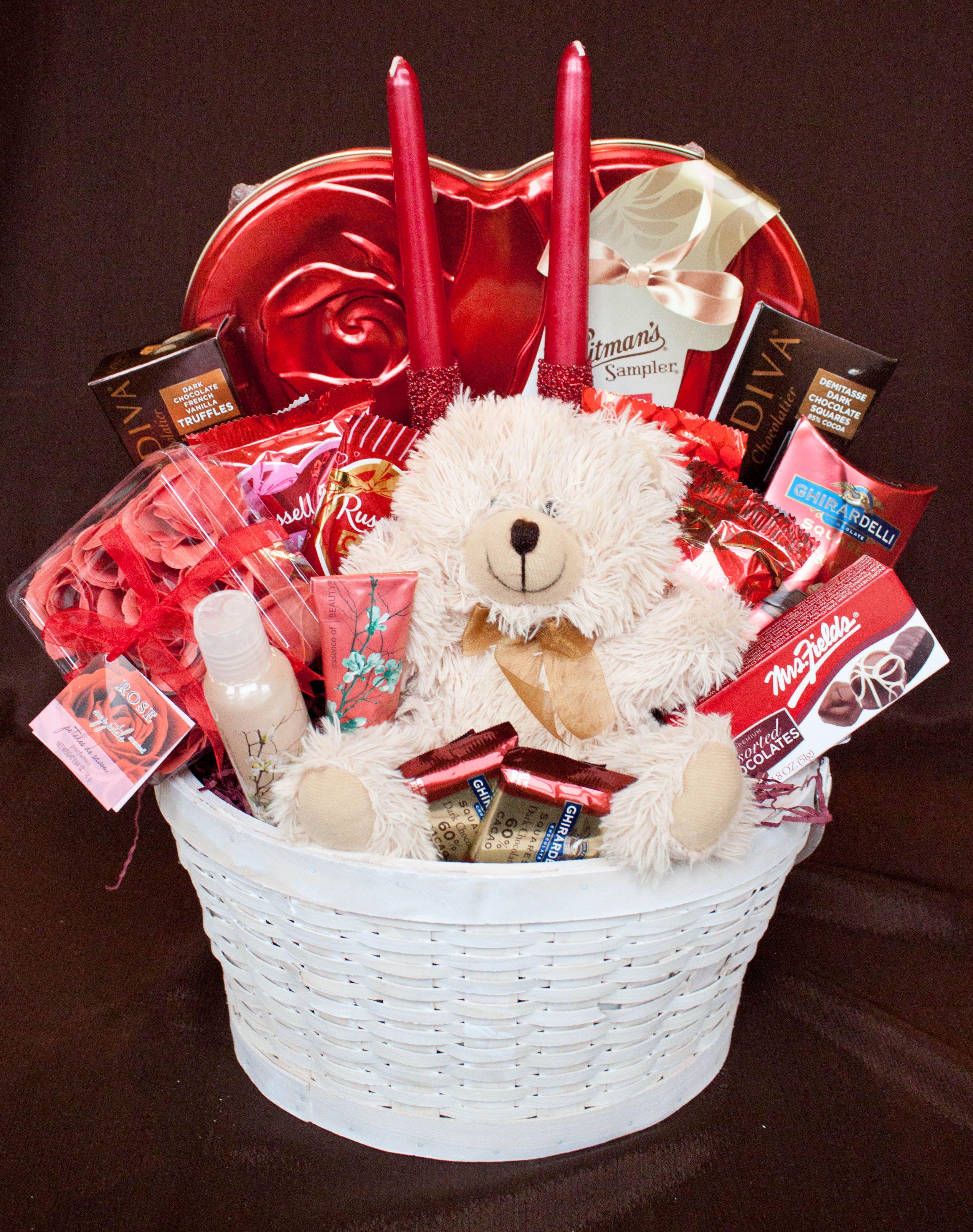 Valentine'S Day Gift Basket Ideas  Valentine Basket Something Wonderful Baskets