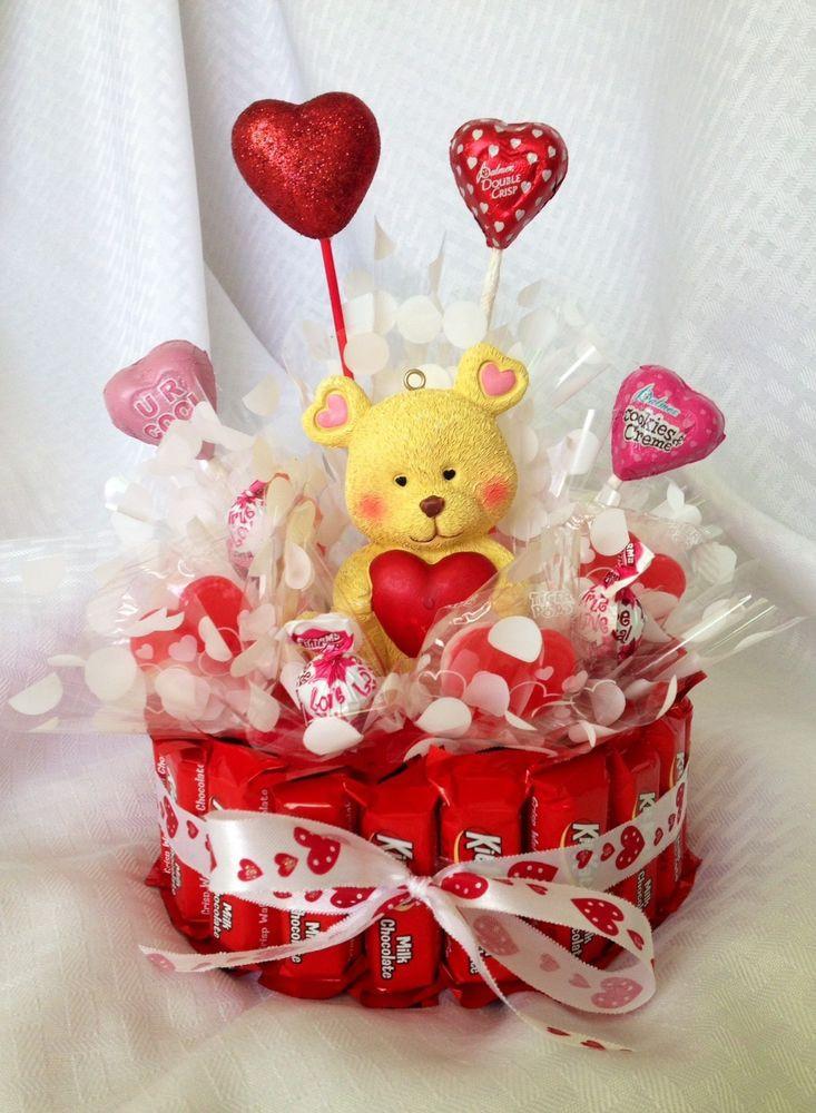 Valentine'S Day Gift Basket Ideas  Valentine s Day Birthday Get Well Wedding Teddy Bear Gift