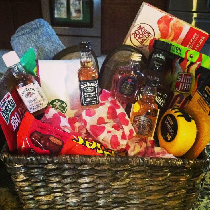 Valentine'S Day Gift Basket Ideas  26 best images about valentine t basket on Pinterest
