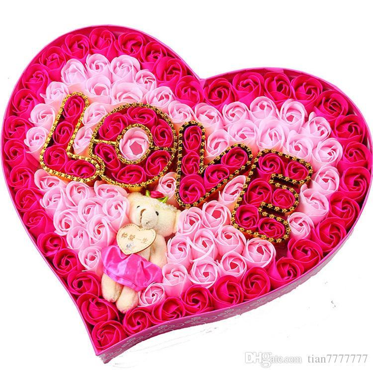 Valentine'S Gift Ideas  2016 Creative Valentine S Gifts Rose Flower Soaps Handmade