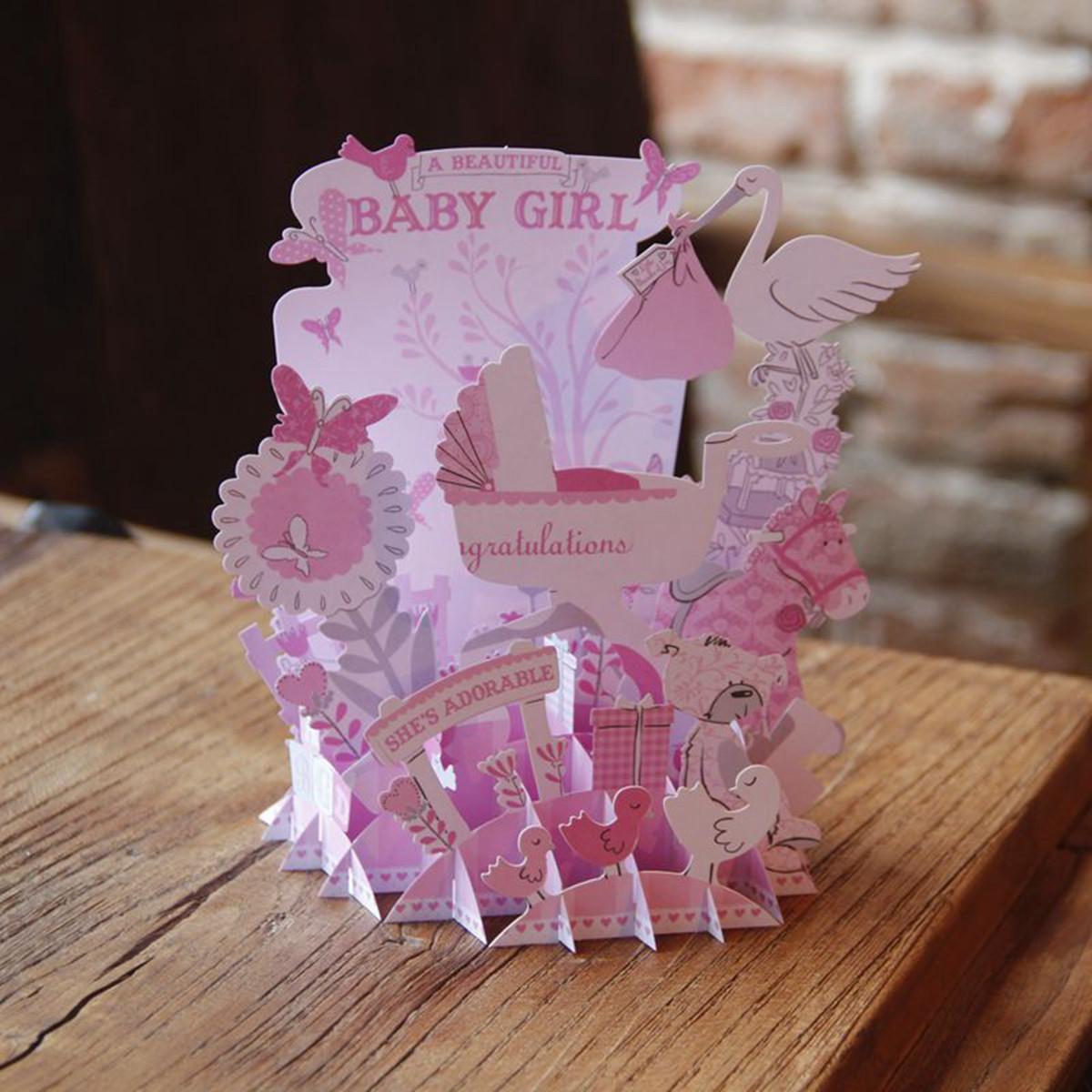 Valentine'S Gift Ideas  3D Pop Up Greeting Card Birthday Anniversary Valentine s