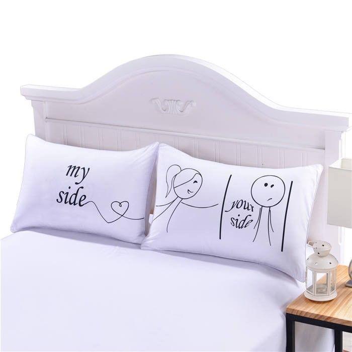 Valentine'S Gift Ideas  Pillowcases Pillow Cases Romantic Anniversary Wedding
