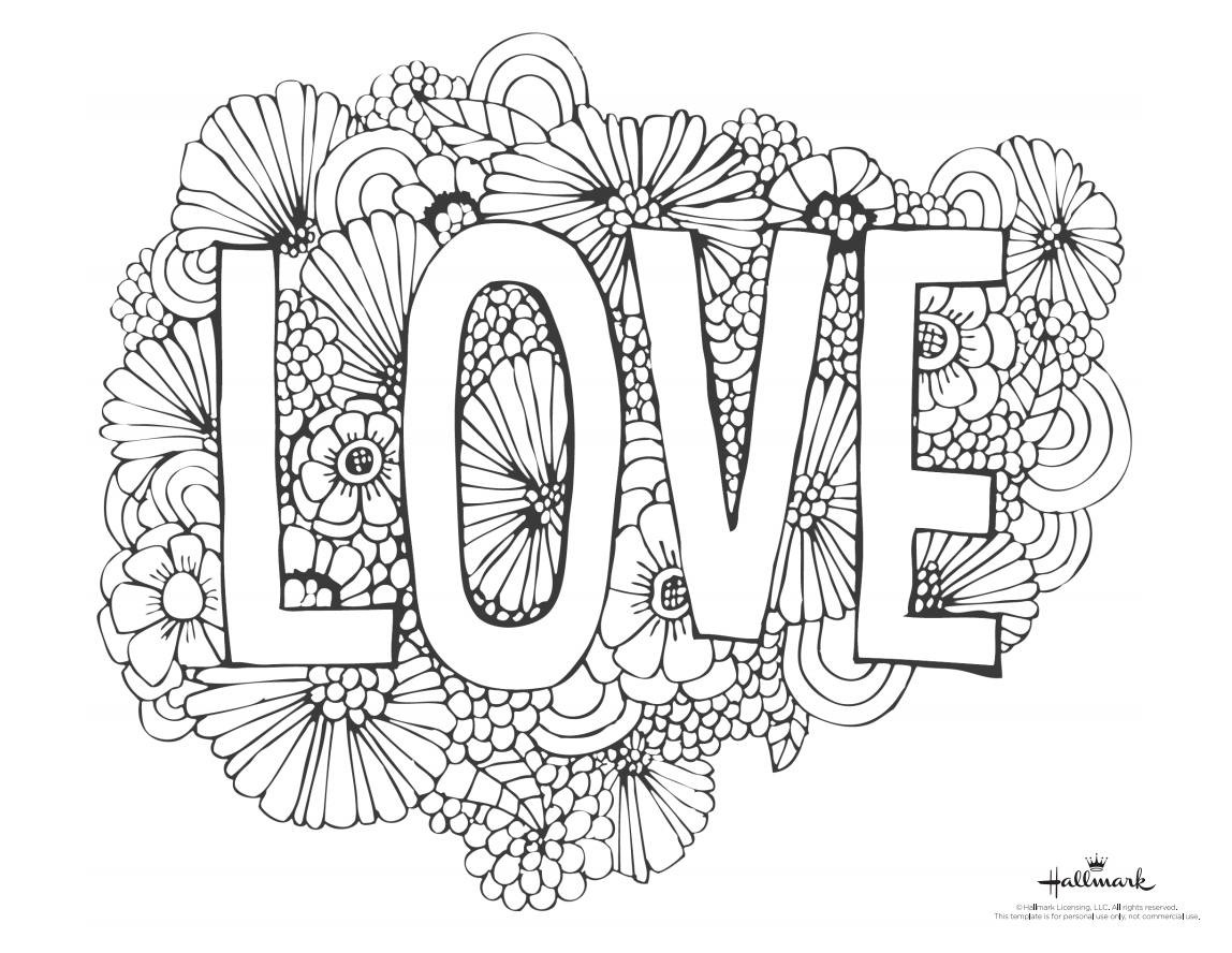 Valentines Coloring Pages Printable  543 Free Printable Valentine s Day Coloring Pages