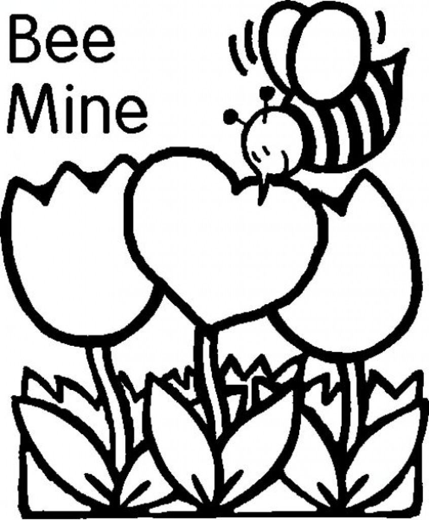 Valentines Coloring Pages Printable  Free Printables Valentines Day Coloring Pages Valentine