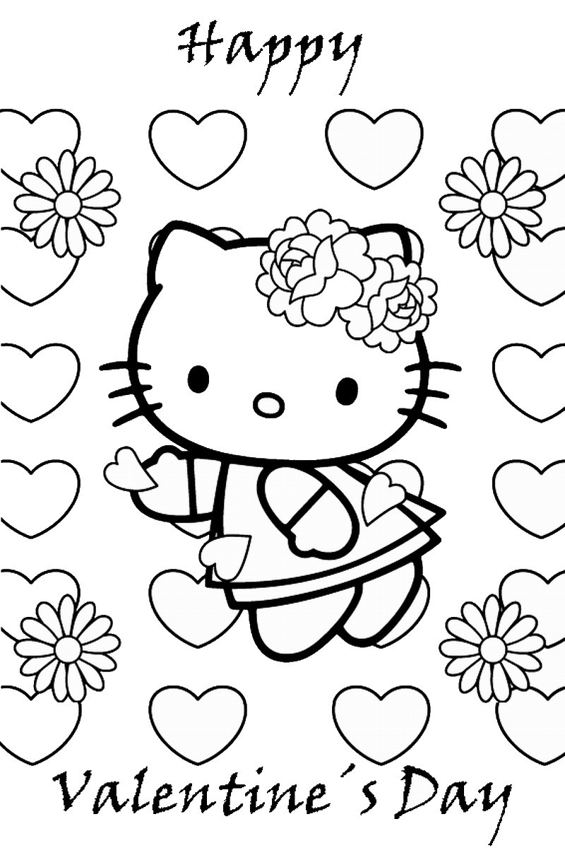Valentines Coloring Pages Printable  Valentine's Day Coloring Pages