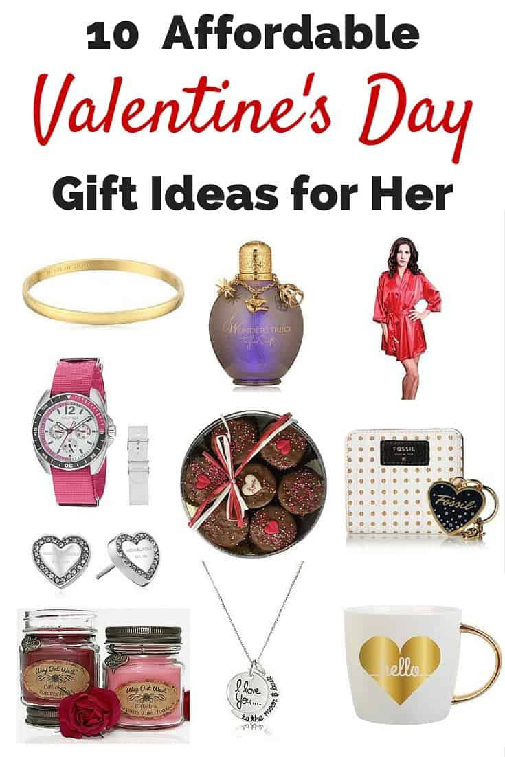 Valentines Day Gift Ideas  10 Affordable Valentine's Day Gift Ideas for Her