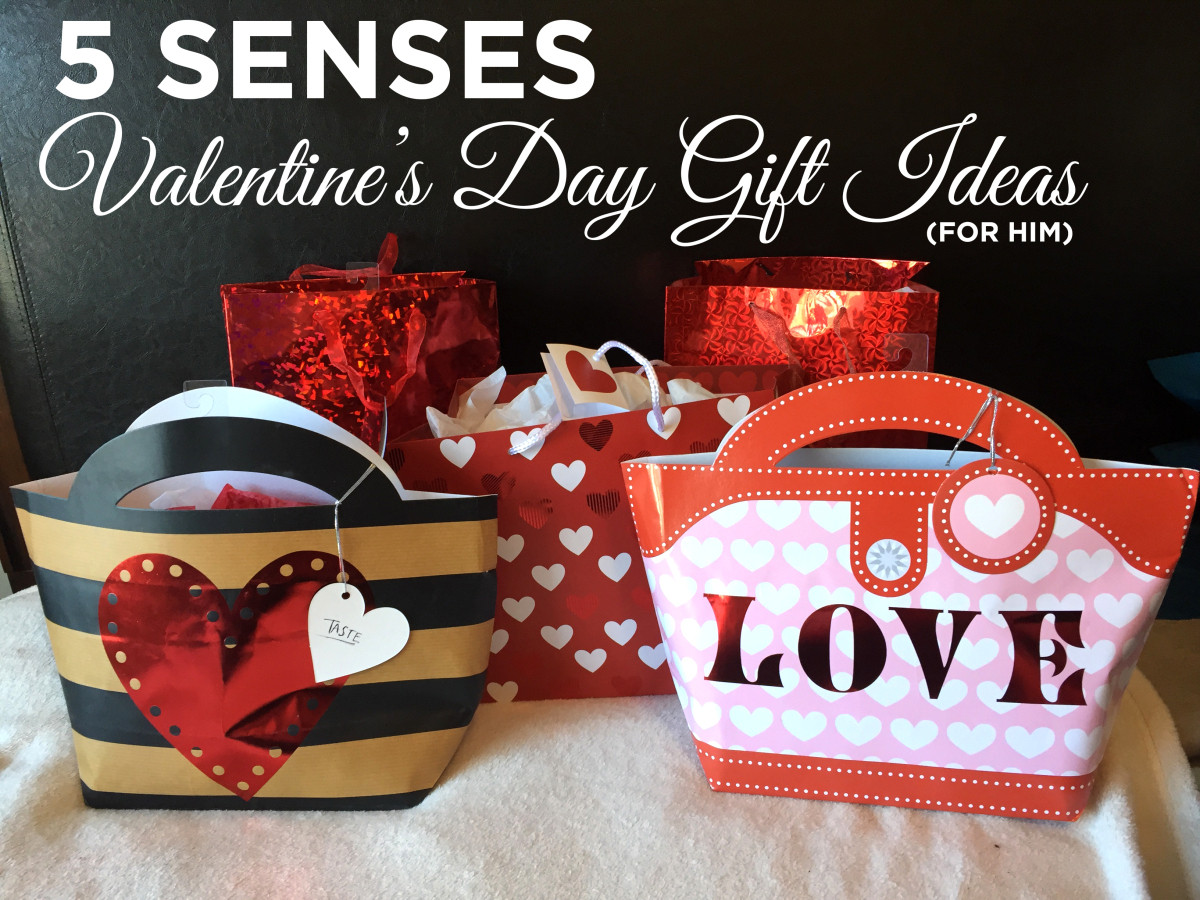 Valentines Day Gift Ideas  5 Senses Valentines Day Gift Idea for him – My Life in