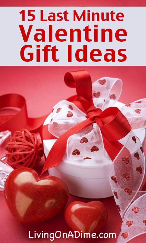Valentines Day Gift Ideas  15 Last Minute Valentine s Day Gift Ideas