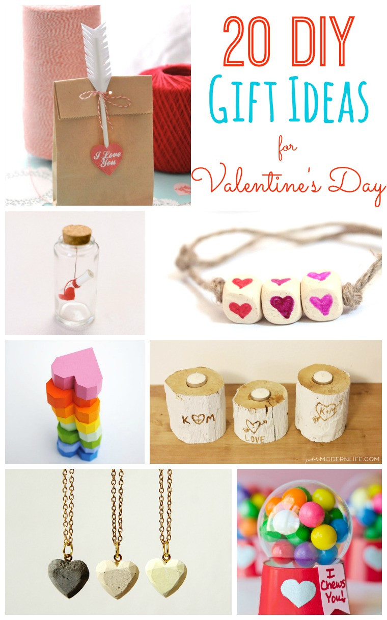 Valentines Day Gift Ideas  20 DIY Valentine s Day Gift Ideas Tatertots and Jello