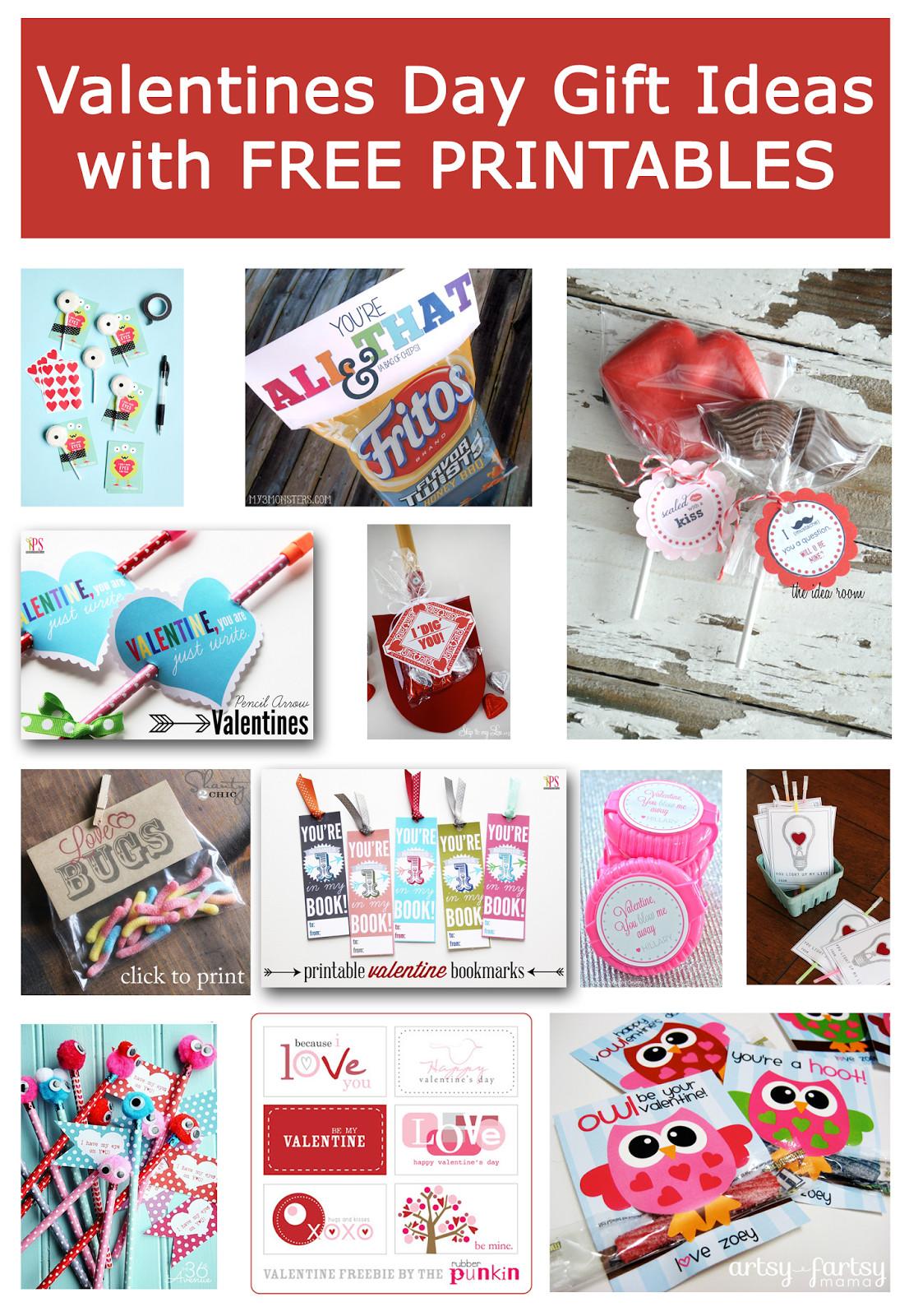 Valentines Day Gift Ideas  Delightful Order Valentines Day Gift Ideas & Free Printables
