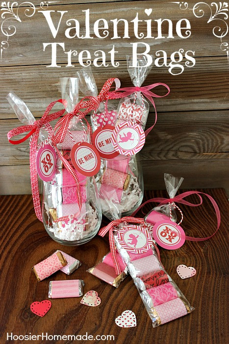 Valentines Gift Bag Ideas  33 Homemade Valentines & Treat Bag Ideas Nest of Posies