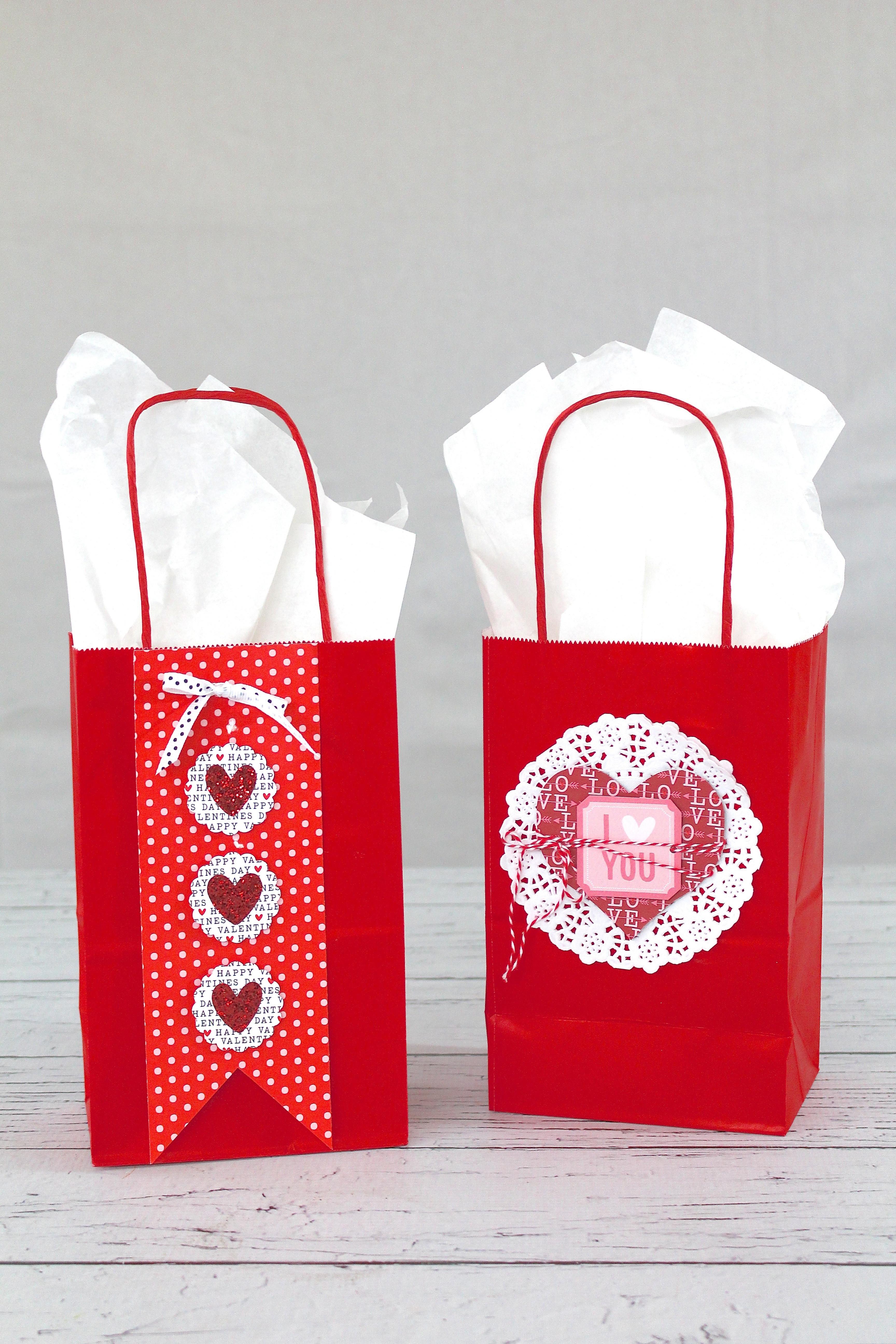 Valentines Gift Bag Ideas  DIY Valentine s Day Ideas for Kids