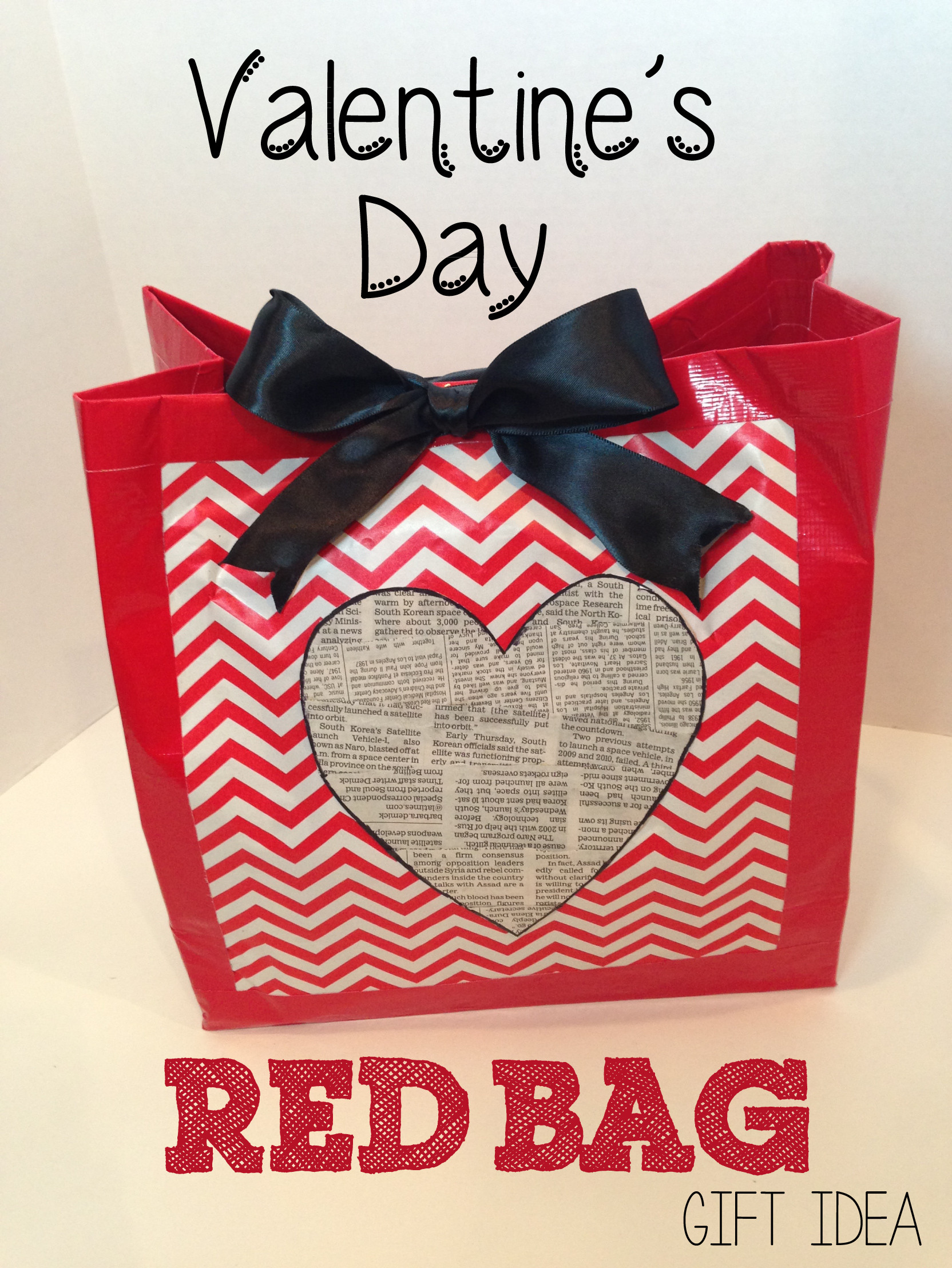 Valentines Gift Bag Ideas  Creative Blog Home Organization DIY Crafts