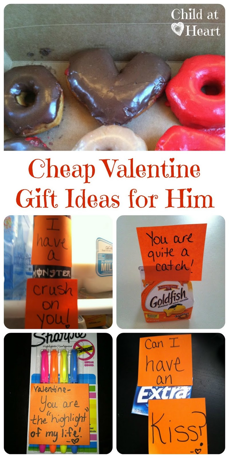 Valentines Gift Ideas For Your Boyfriend  Cheap Valentine Gift Ideas for Him Child at Heart Blog