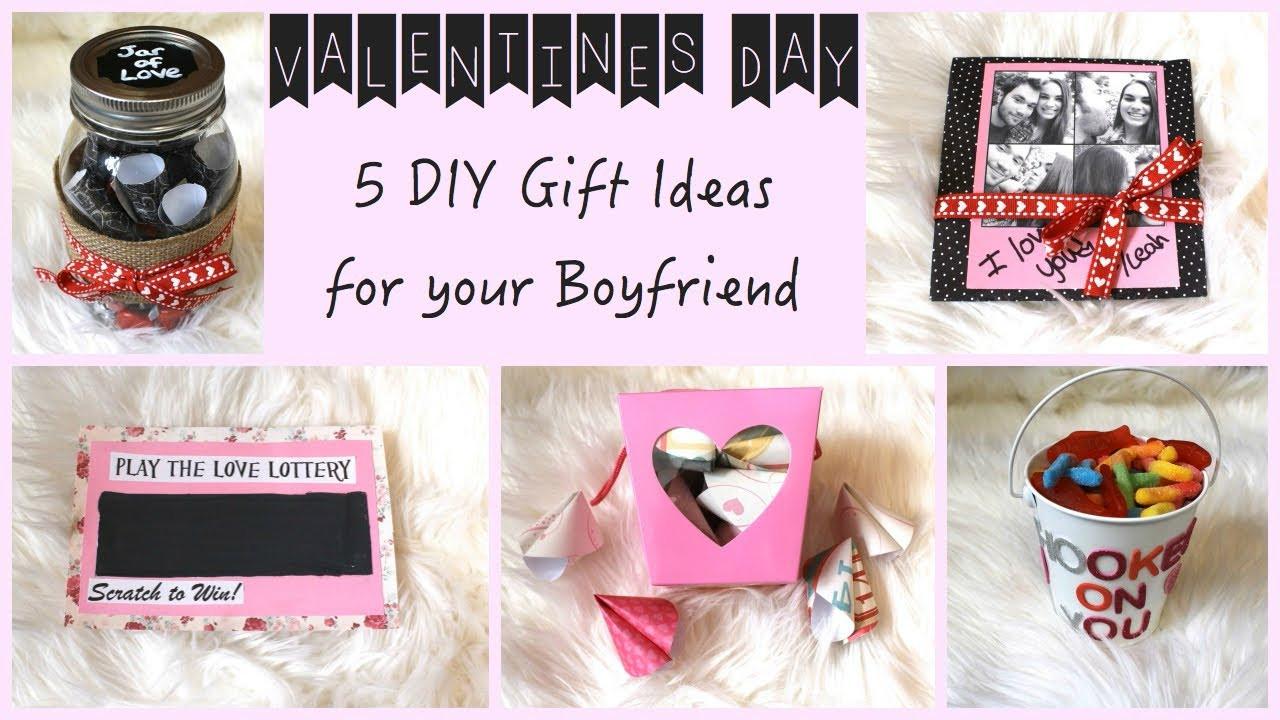 Valentines Gift Ideas For Your Boyfriend  5 DIY Gift Ideas for Your Boyfriend