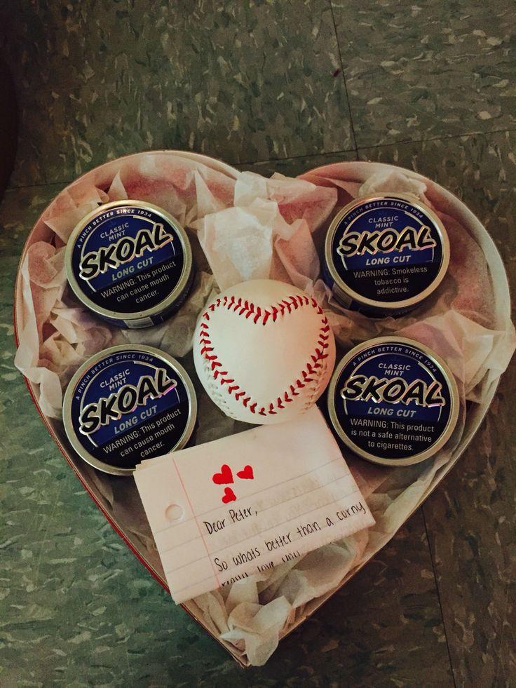 Valentines Gift Ideas For Your Boyfriend  Valentine s Day t for him baseball girlfriend