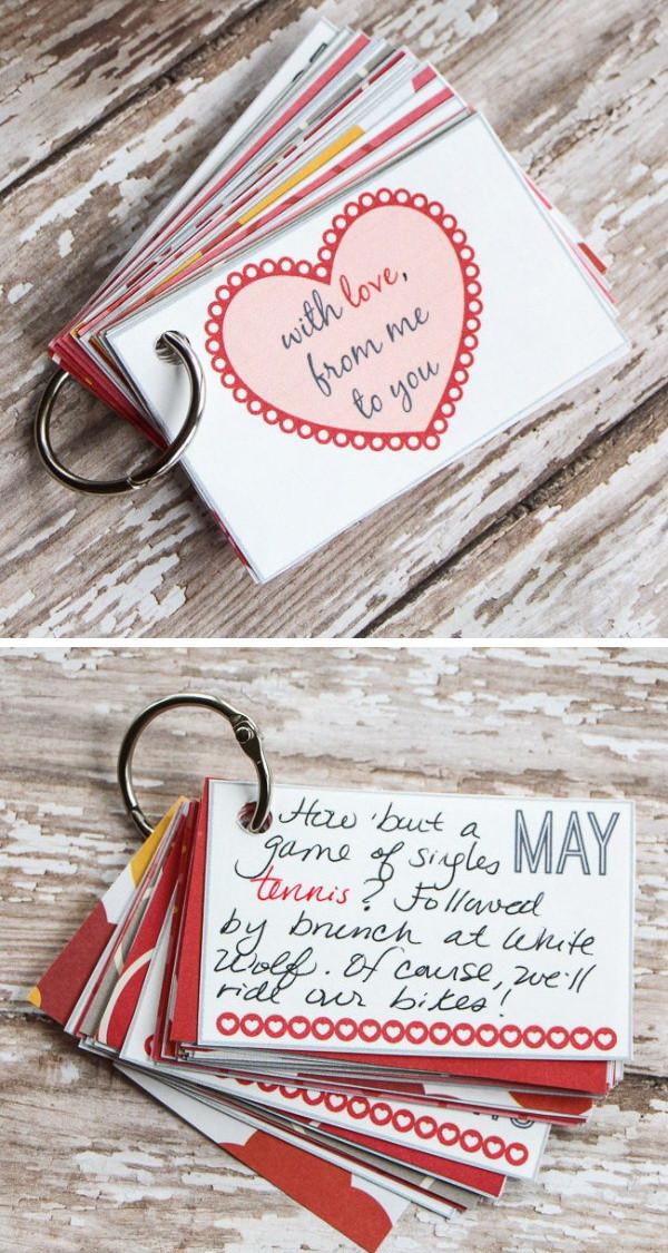 Valentines Gift Ideas For Your Boyfriend  Easy DIY Valentine s Day Gifts for Boyfriend Listing More