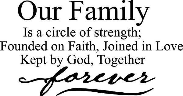 Very Short Family Quotes  SHORT QUOTES ABOUT FAMILY STRENGTH image quotes at