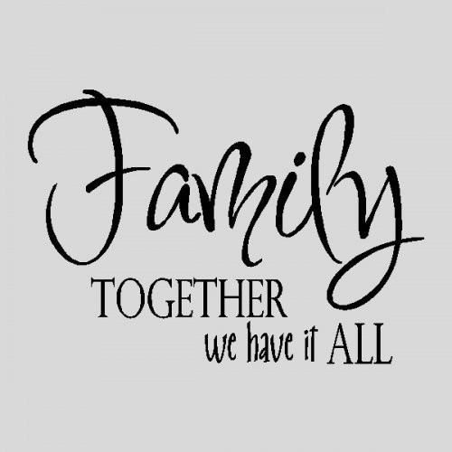 Very Short Family Quotes  Blended Family Quotes And Sayings QuotesGram