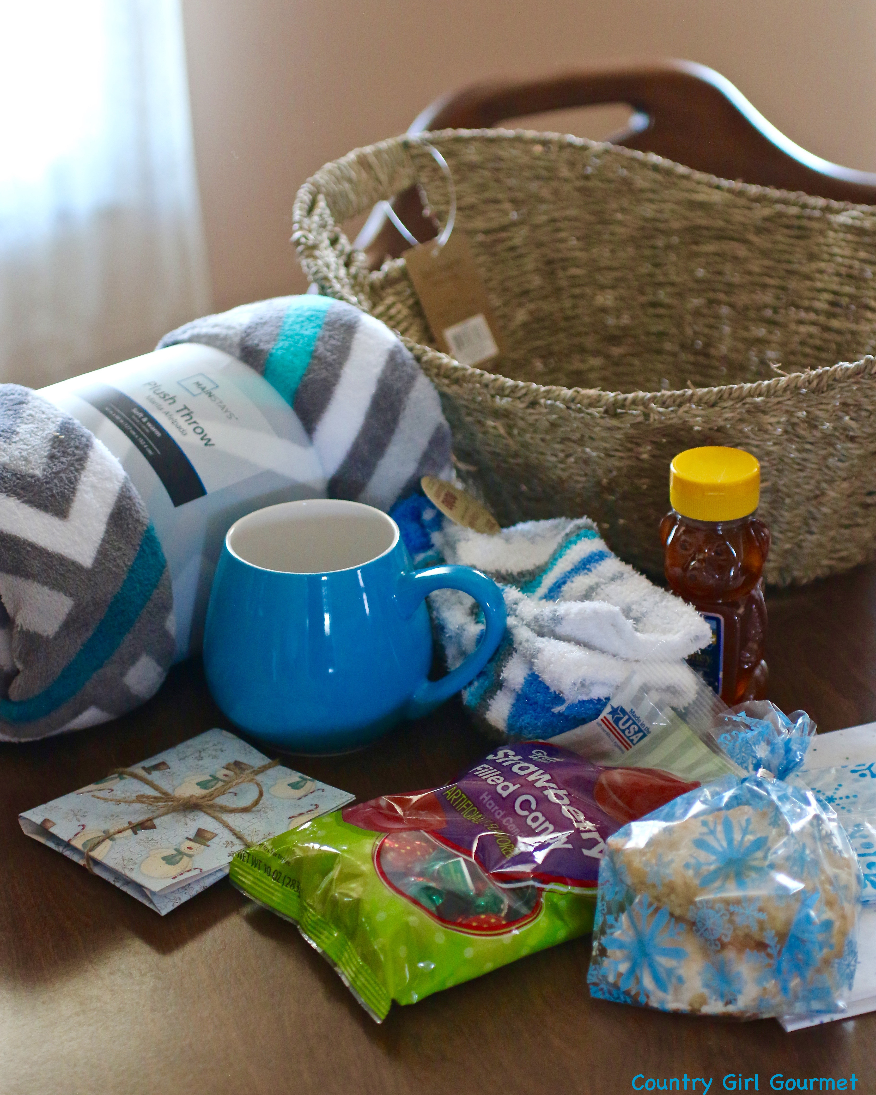 Warm And Cozy Gift Basket Ideas  DIY Warm and Cozy Gift Basket My Hot Southern Mess