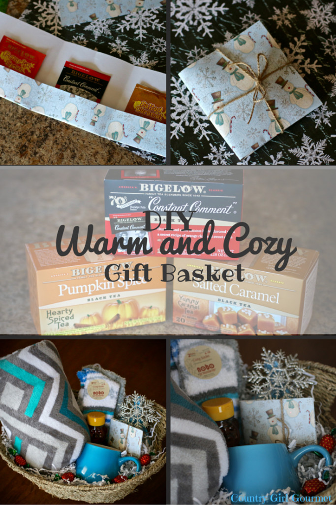 Warm And Cozy Gift Basket Ideas  DIY Warm and Cozy Gift Basket