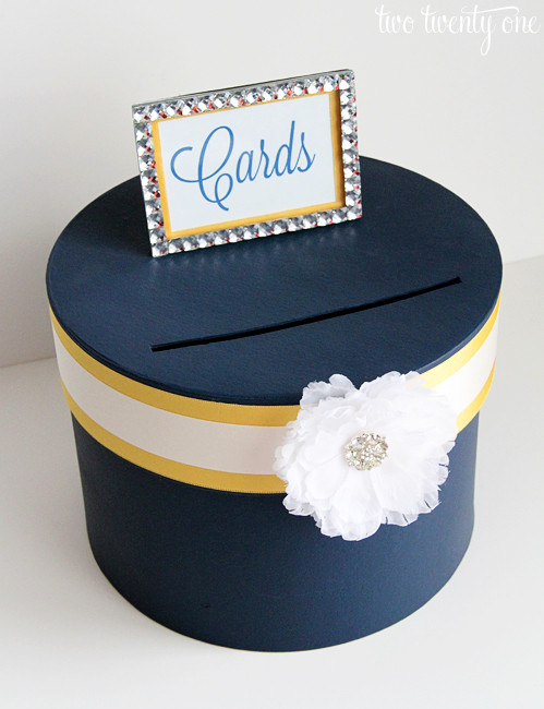 Wedding Card Box DIY  18 DIY Wedding Card Boxes For Your Guests To Slip Your
