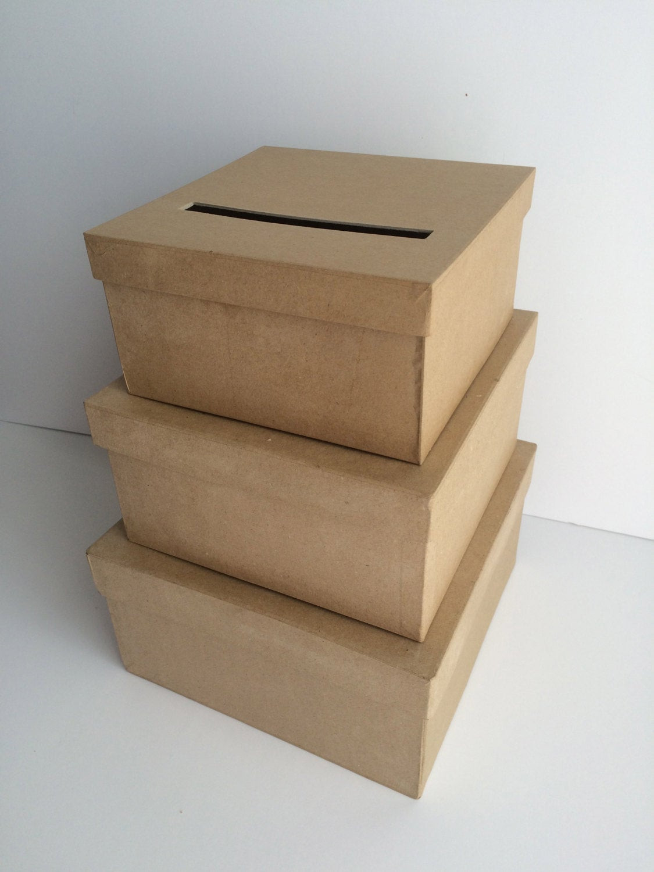 Wedding Card Box DIY  DIY Wedding Card Box Wedding Card Holder Gift Card Holder
