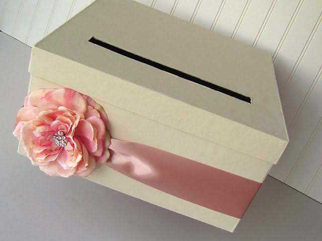 Wedding Card Box DIY  DIY Wedding Card Box Kit to make your own wedding card