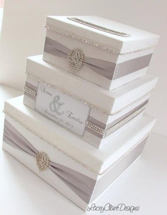 Wedding Card Box DIY  Wedding Card Box Bling Card Box Money Holder Box with