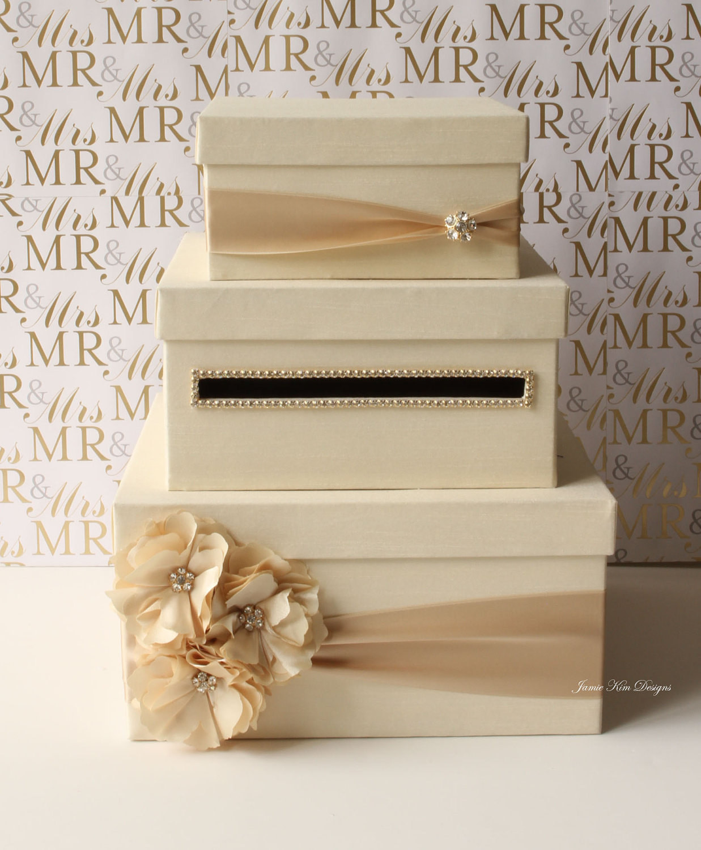 Wedding Card Box DIY  Wedding Card Box Money Box Gift Card Holder choose your