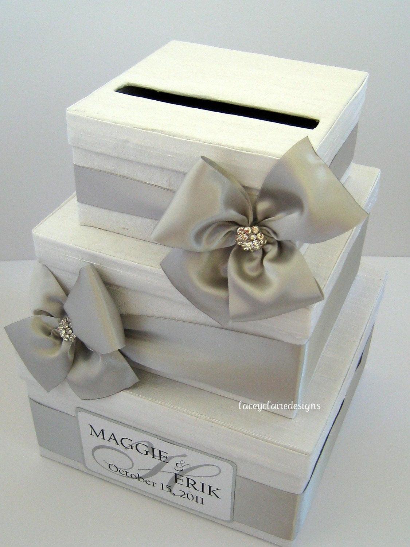 Wedding Card Box DIY  Wedding Card Box Money Card Box Gift Card Box Card Holder