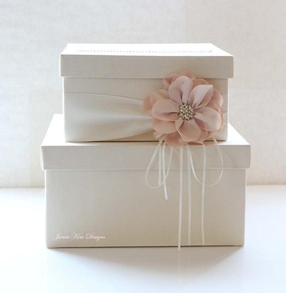 Wedding Card Box DIY  Wedding Card Box Wedding Money Box Gift Card Box Custom Made