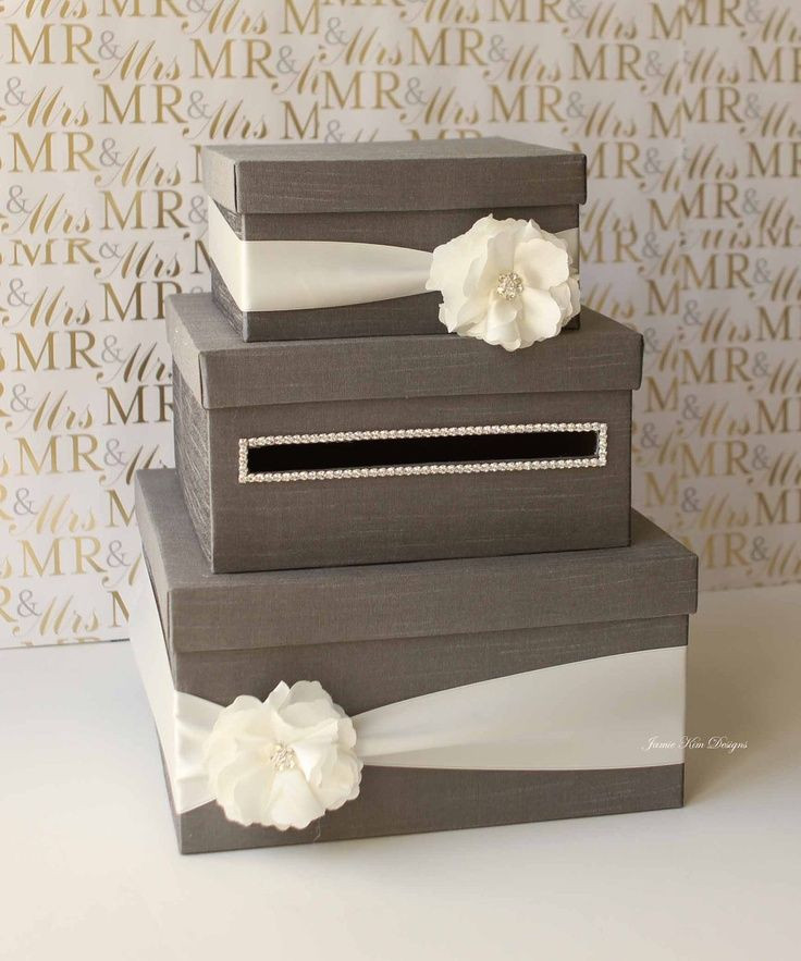 Wedding Card Box DIY  Best 25 Wedding Card Boxes ideas on Pinterest