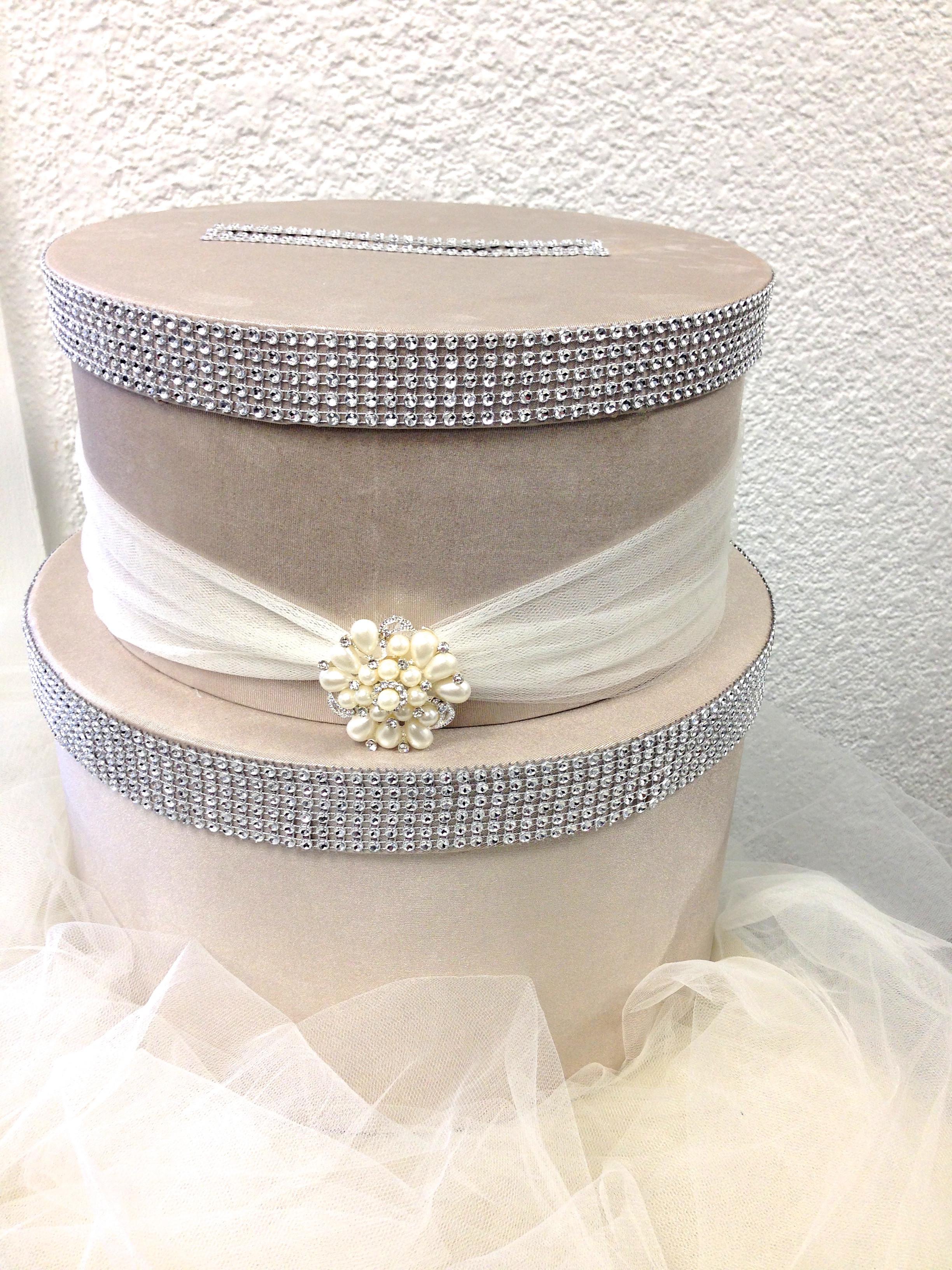 Wedding Card Box DIY  DIY Wedding Card Box
