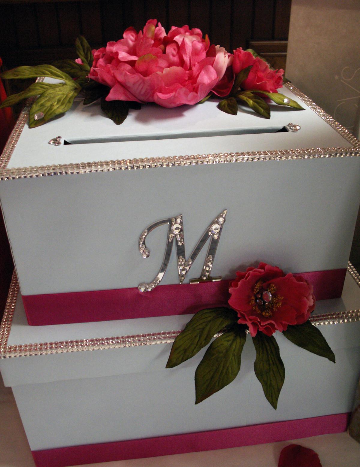 Wedding Card Box DIY  DIY Wedding Card Box Project