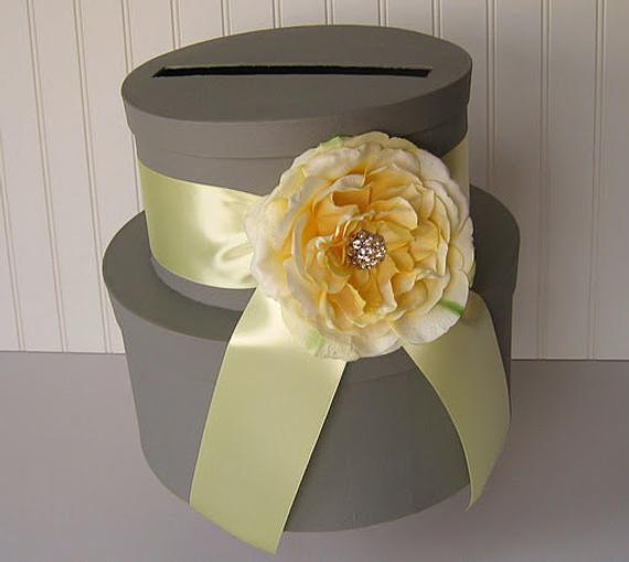 Wedding Card Box DIY  Wedding Card Box Do it yourself box and supplies
