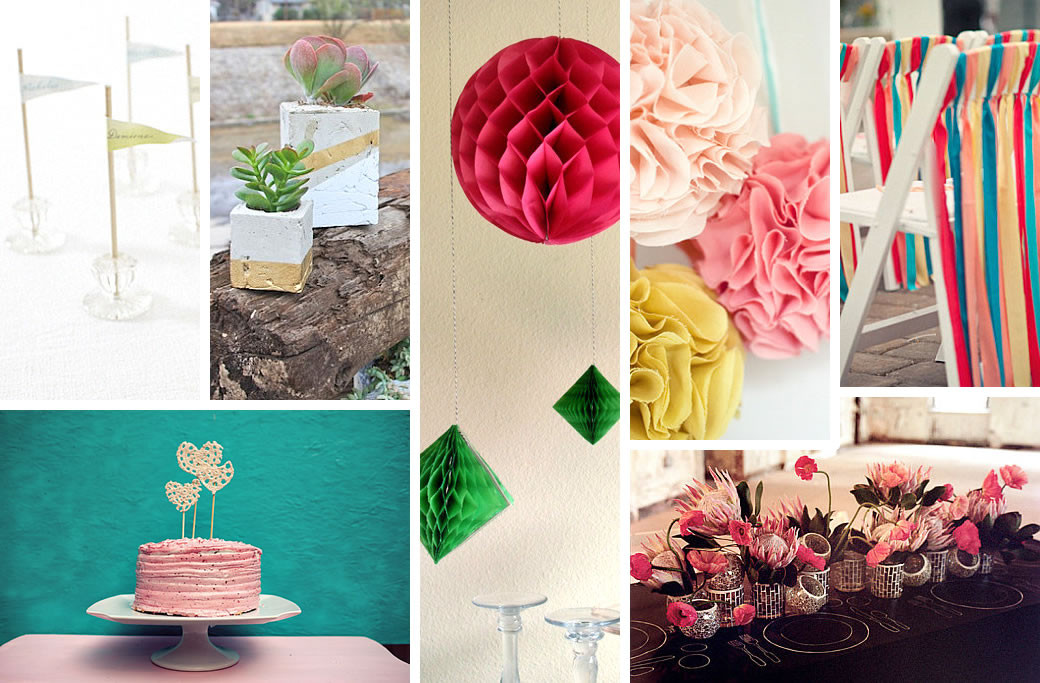 Wedding Decor DIY  DIY Wedding Decorations for Spring