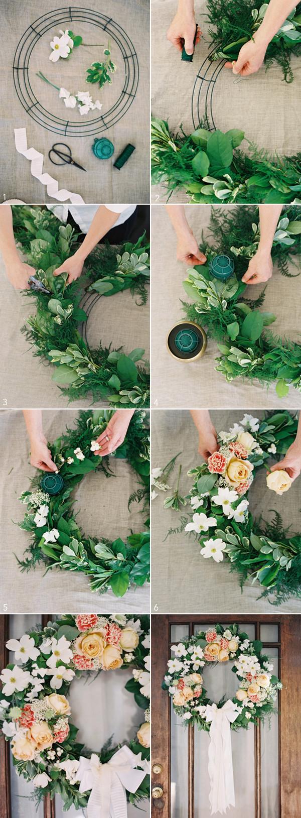 Wedding Decor DIY  DIY Wedding Wreath ce Wed
