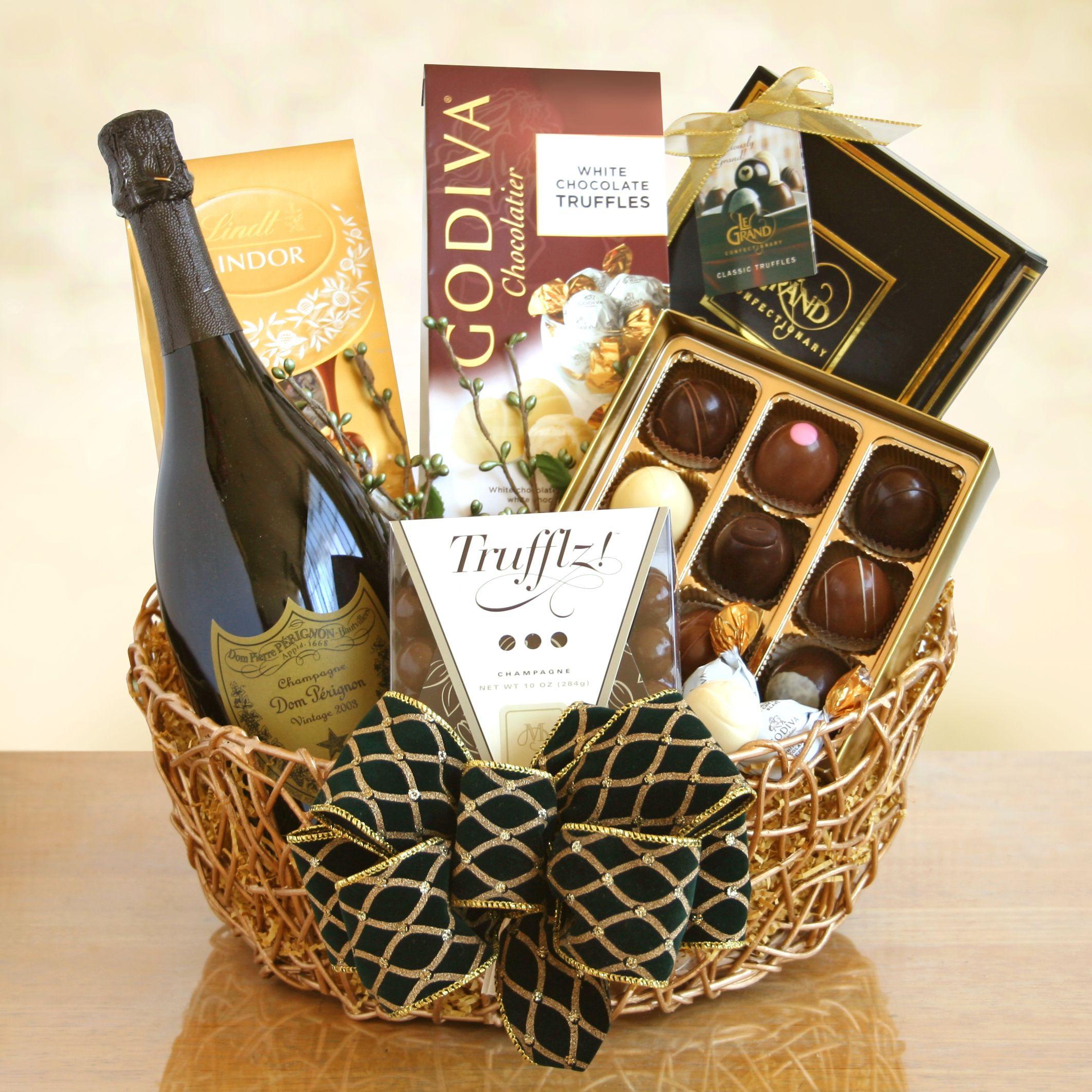 Wine Basket Gift Ideas  ART among the FLOWERS