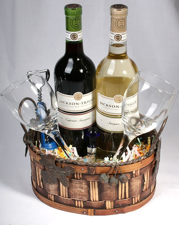 Wine Basket Gift Ideas  Eight Fun Wine Basket Ideas For Fundraising