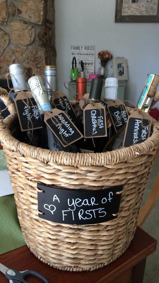 Wine Basket Gift Ideas  116 best DIY Wine Gift Basket Ideas images on Pinterest